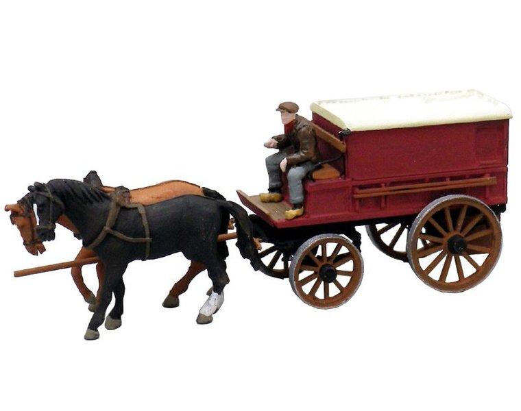 Geschlossener Bauernwagen