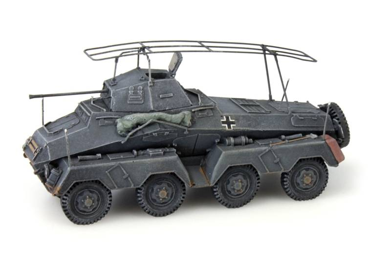 Sd.Kfz 232 8-Rad, Funkwagen, grau