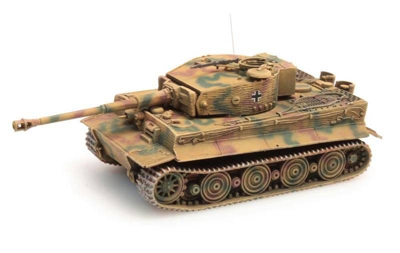 Tiger I Zimmerit Ausf. Wittmann Tarnung