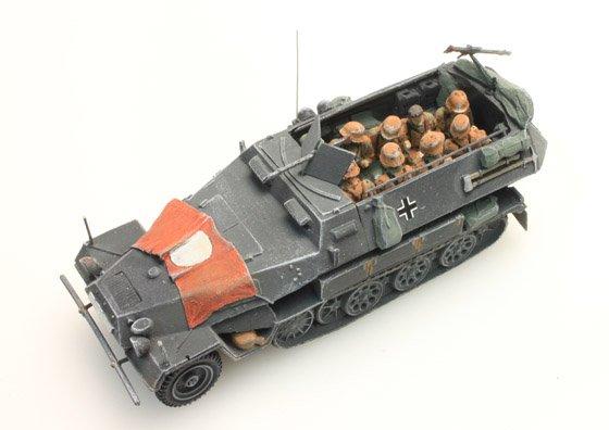 Besatzung Sd.Kfz 251/1B, Camo, 10 Figuren