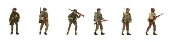 US Infantry 6 Figuren
