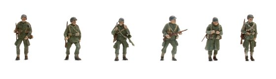 US Paratroopers (6 Fig.)