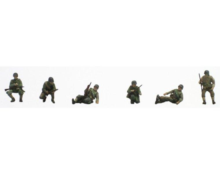 US Infantry sitting on tank