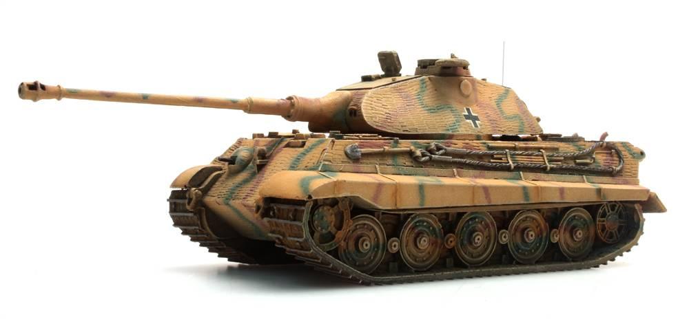 Tiger II (Porsche), Zimmerit, Camo, 1:87 Fertigmodell