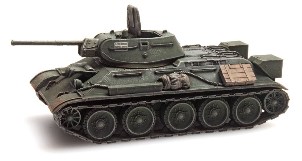 T34-76 Soviet Army Green