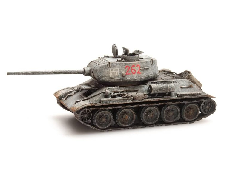 T34-85 Soviet Army Winter