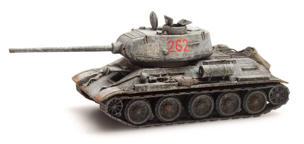 T34-85 Soviet Army Winter