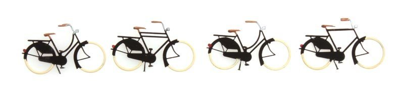 Bikes old, 1:87, readymade, painted