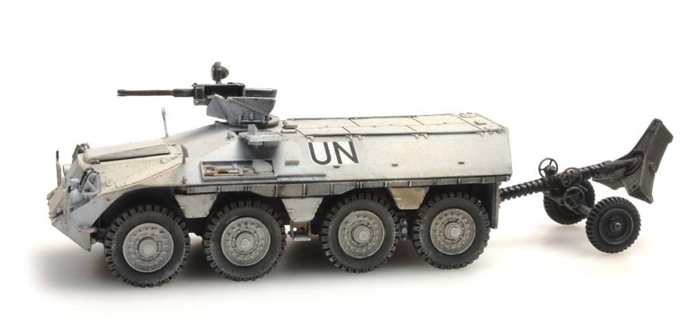 DAF YP-408 PWMR 120mm Mortier UNIFIL
