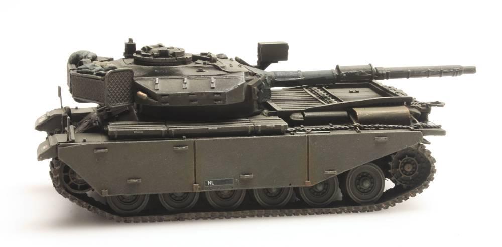Centurion Mk 5 voor treintransport Koninklijke Landmacht