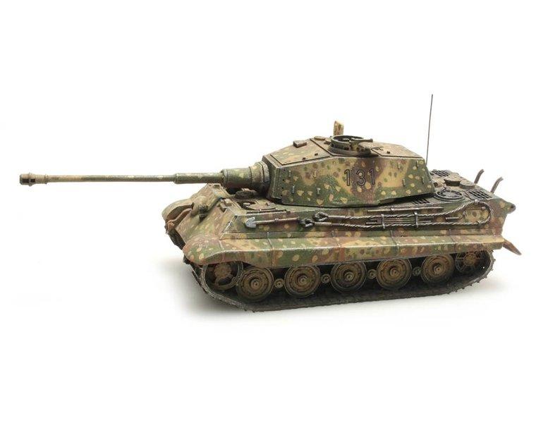 Tiger II Henschel Hinterhalt-Tarnung