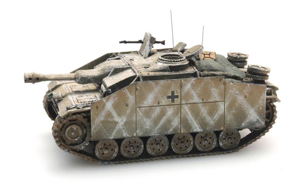 StuG III G Haubitze Wintertarnung