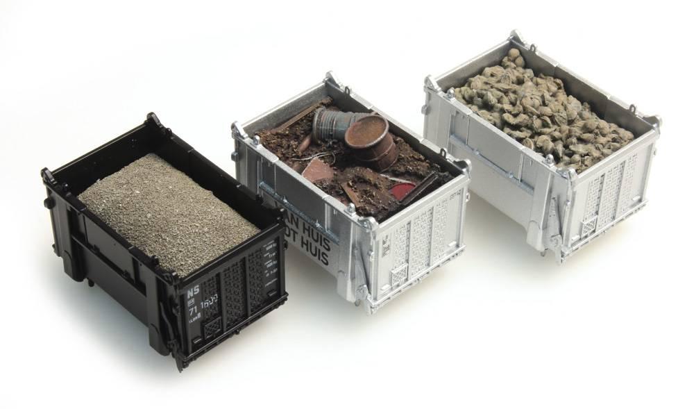 Ladegut Container: Rüben, Schrot, Sand