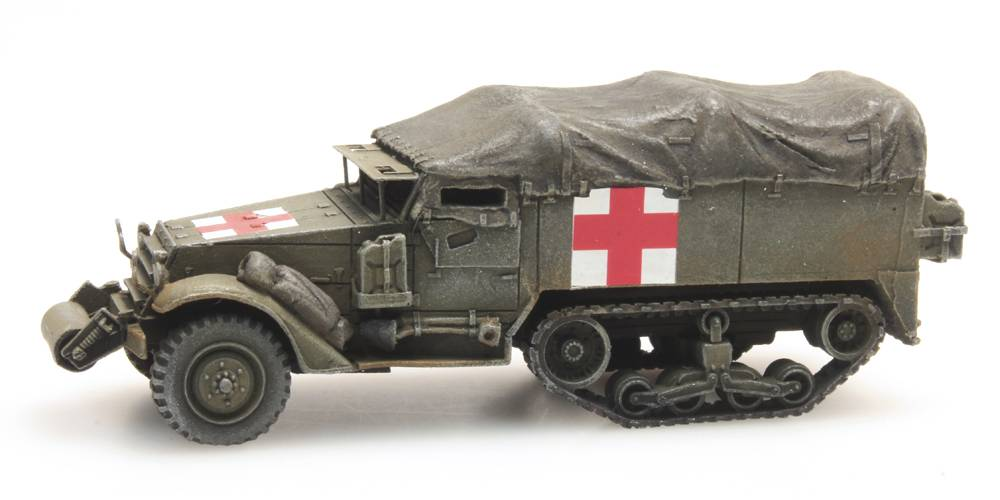 Halftrack M3A1 Ambulance