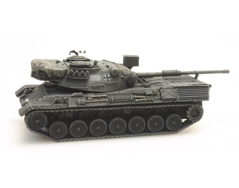 Leopard 1 Gelboliv Eisenbahntransport