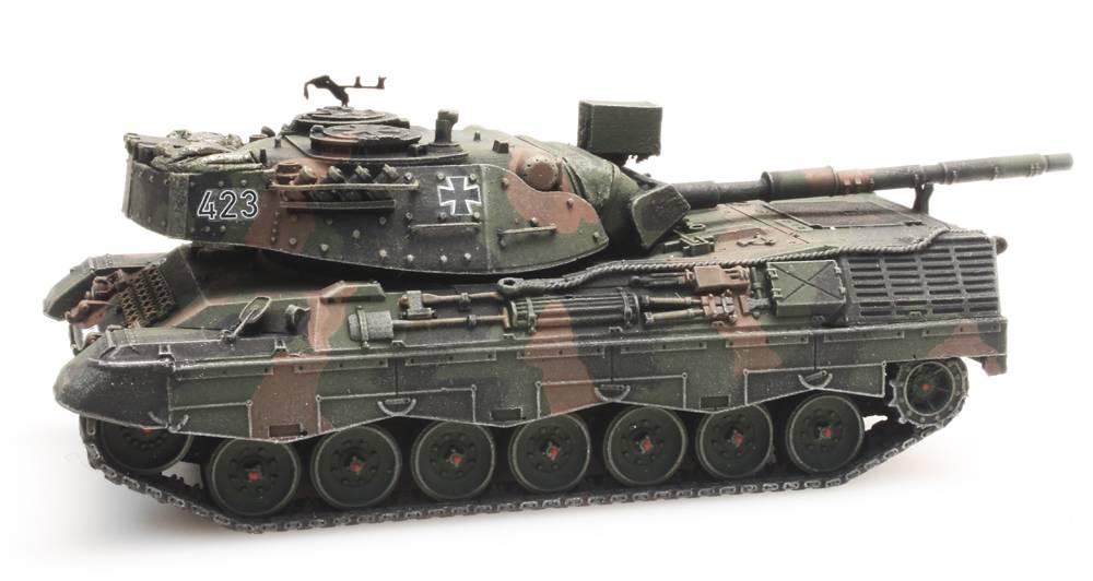 Leopard 1A1A2 Flecktarn voor treintransport Bundeswehr