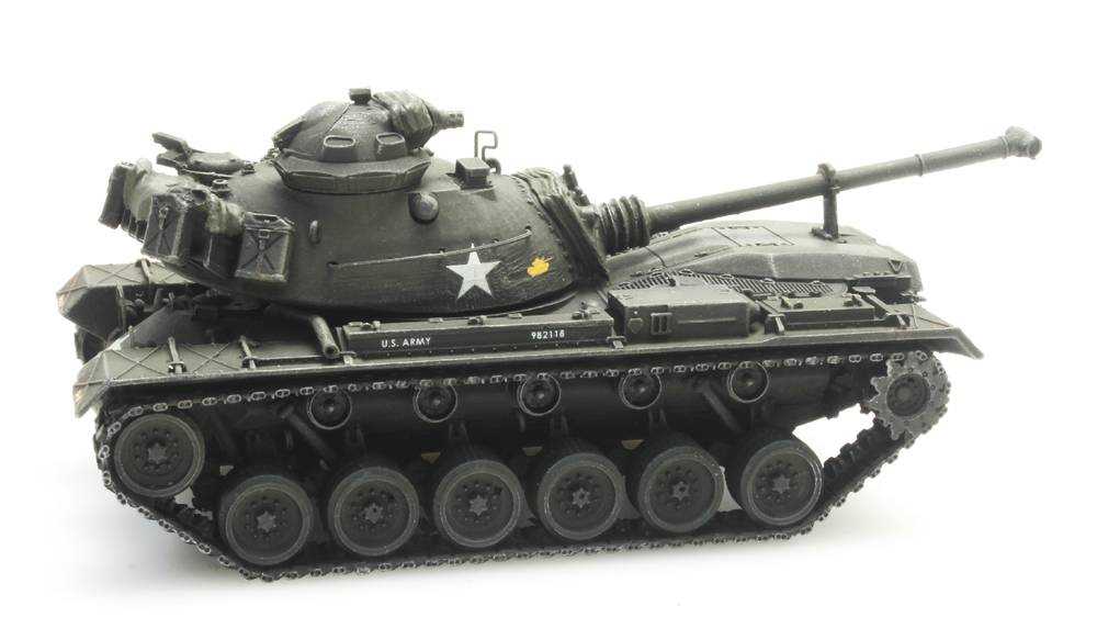 M48 A2 voor treintransport US Army