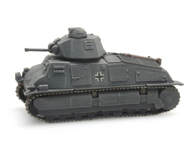 Somua S-35 Beutefahrzeug Wehrmacht