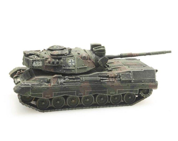 Leopard 1A1A2 Flecktarn treintransport