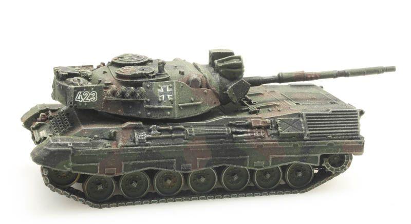 Leopard 1A1A2 Flecktarn für Eisenbahntransport