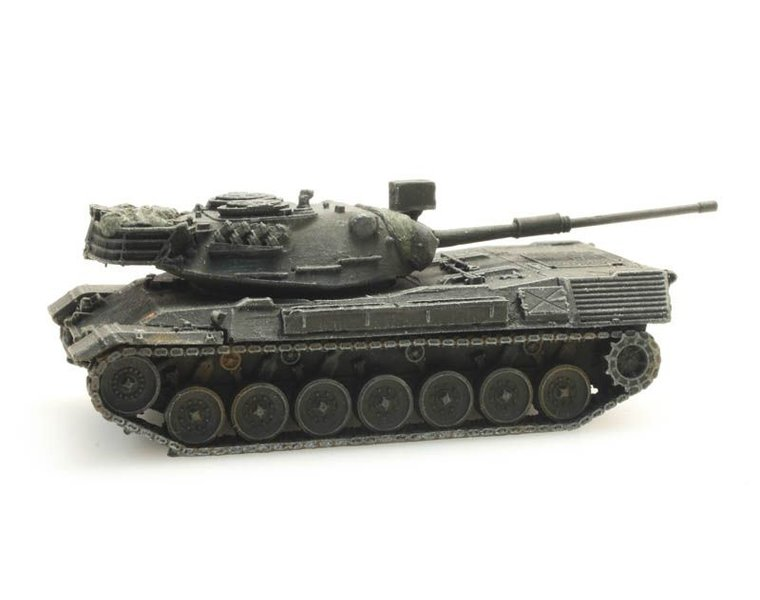 Leopard 1 für Eisenbahntransport Belgische Streitkräfte