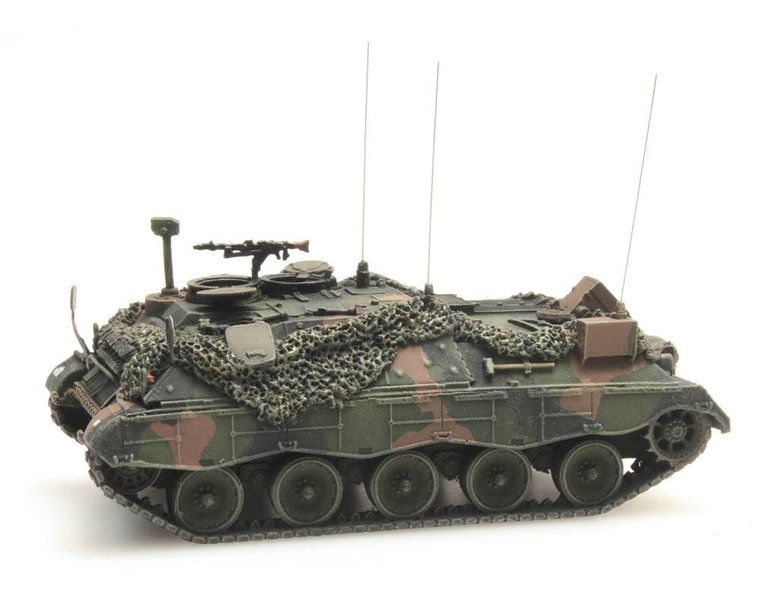Jaguar 2 Führungspanzer Gefechtsklar Flecktarn