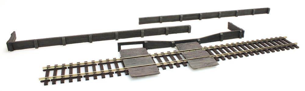 Bahnsteigkanten aus Holz