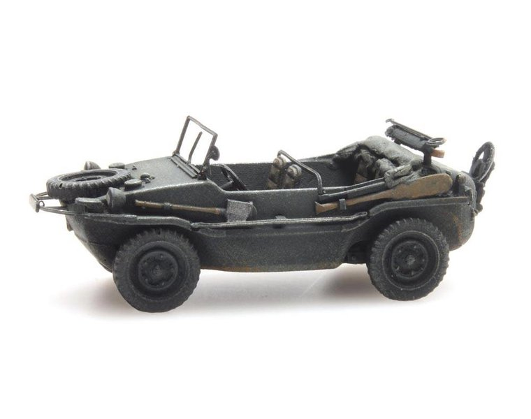 Schwimmwagen VW 166 K2s Dunkelgrau