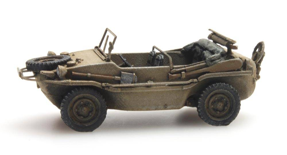 Schwimmwagen VW 166 K2s Dunkelgelb