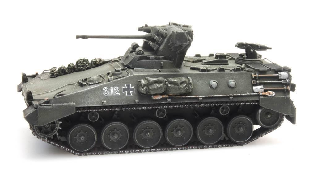 Schützenpanzer  Marder 1 gelboliv für Eisenbahntransport Bundeswehr