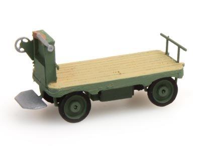 Elektrische Bahnsteigkarre grün - 1:160 Fertigmodell