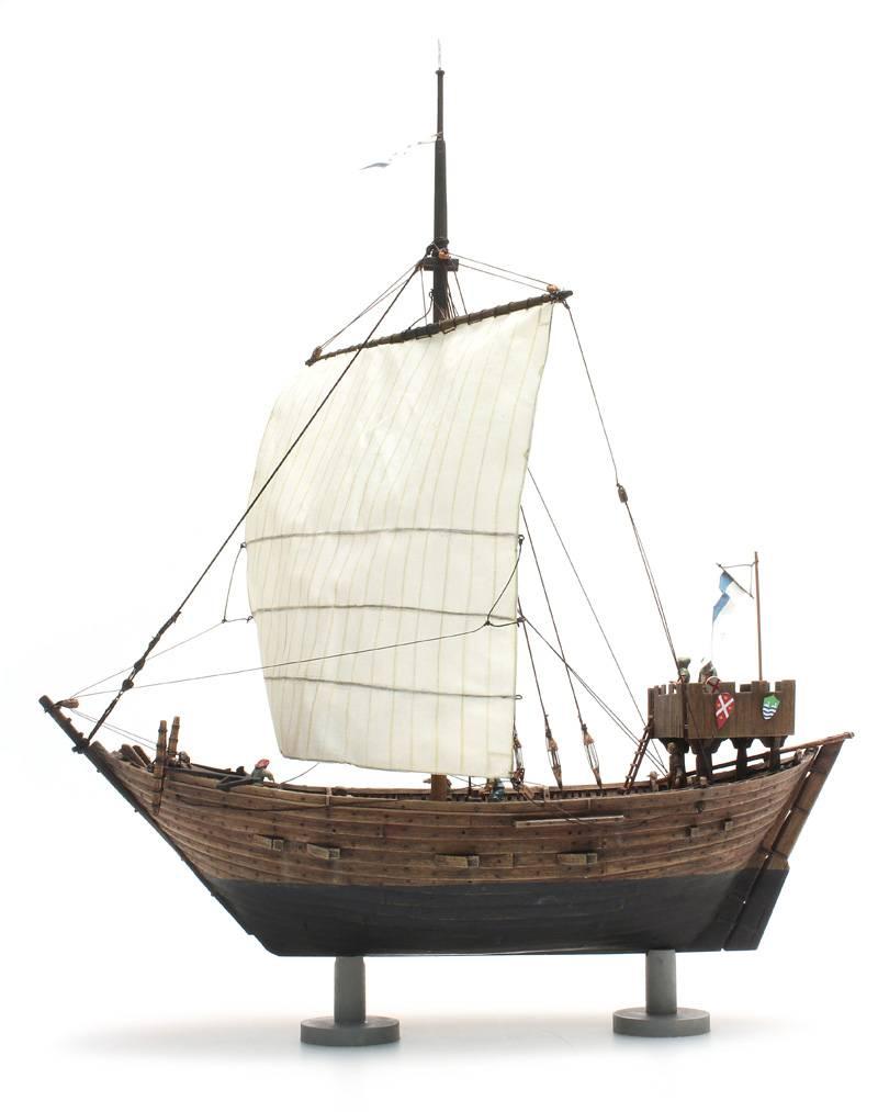 Cog ship 14th century - resin kit - 1:87