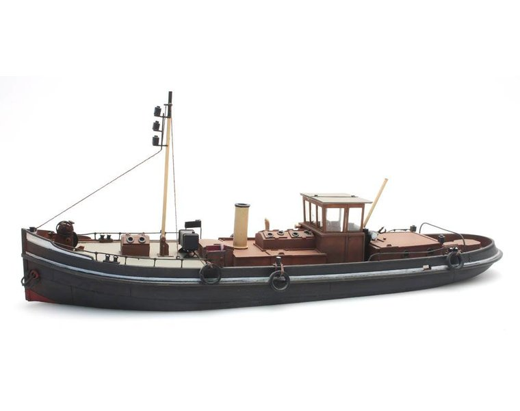 Canal steam tug