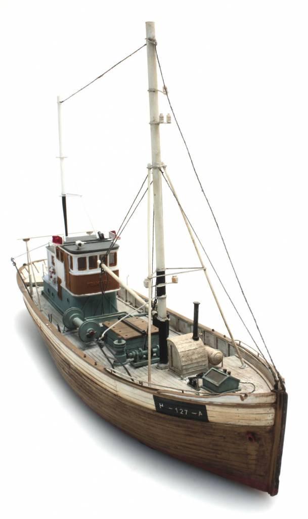 Norwegean fishingboat framtid i waterline artitecshop for Artitec home design