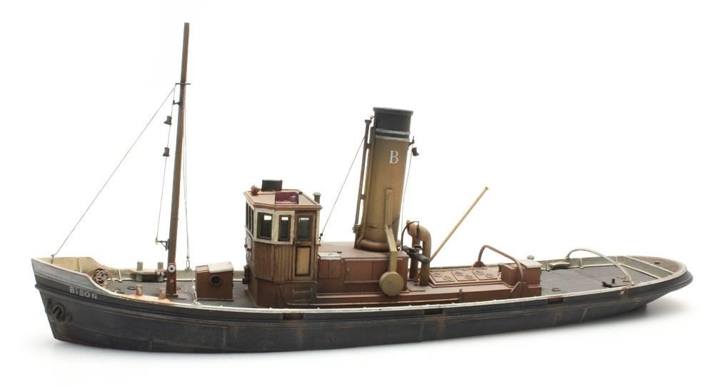 Havensleepboot, 1:87 bouwpakket uit resin, ongeverfd