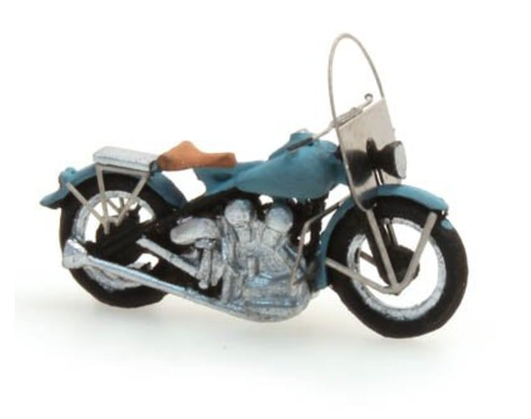 US motorcycle Liberator blue