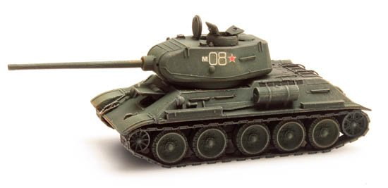 T34-85, Russian Army