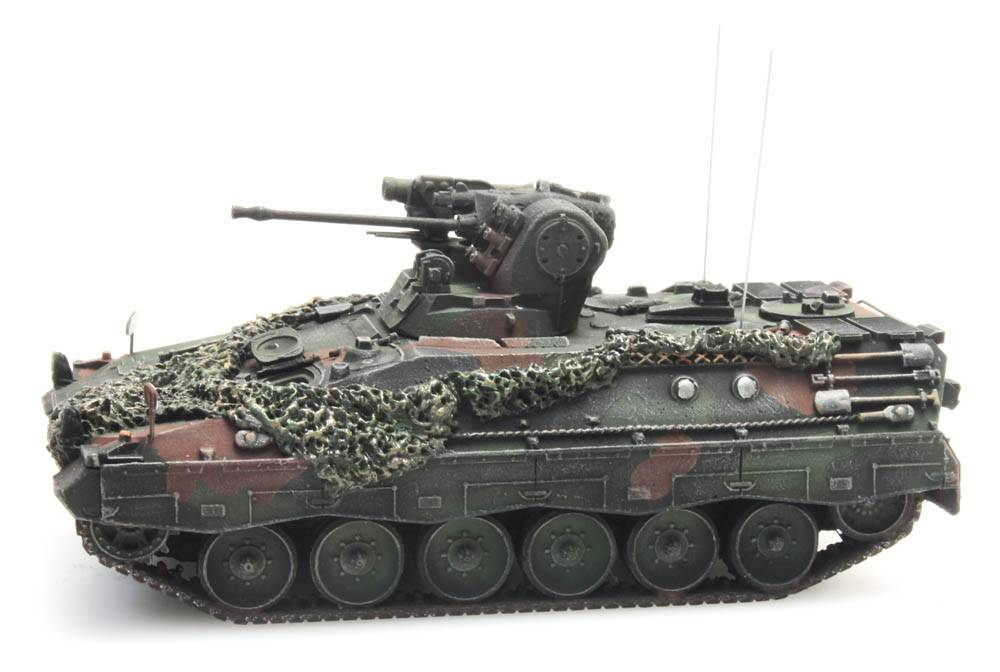 Schützenpanzer Marder 1A2 Flecktarnung Gefechtsklar