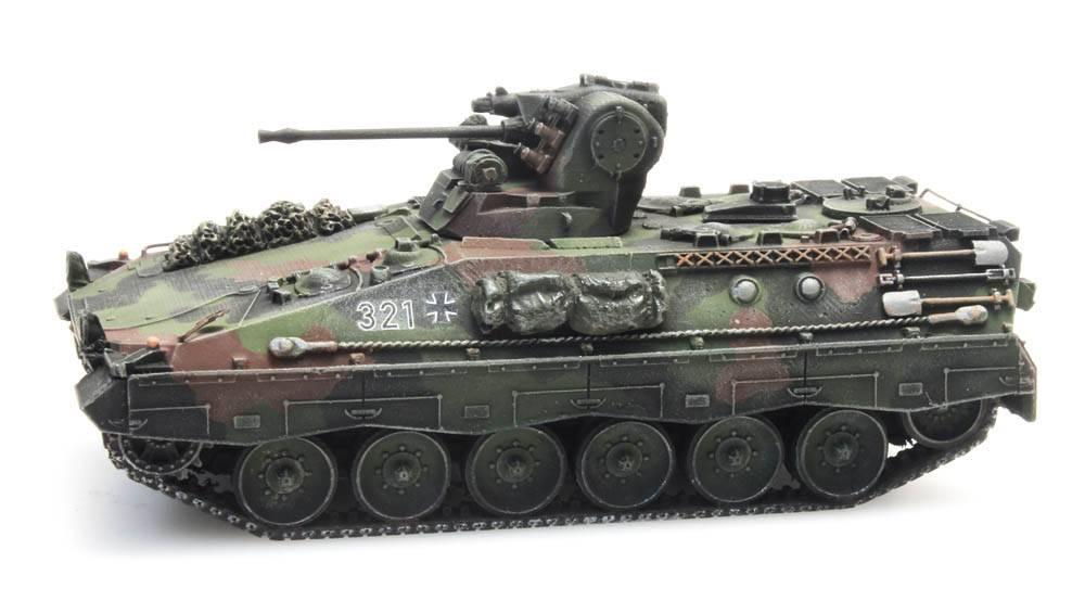 Schützenpanzer Marder 1A2 Flecktarnung Eisenbahntransport