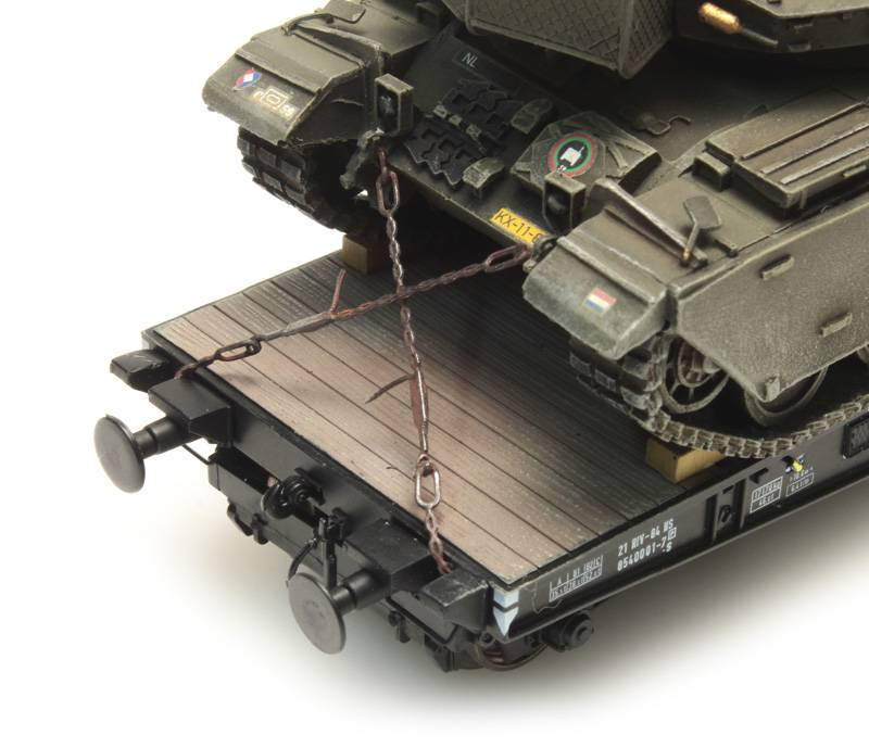 Befestigungsketten Militär Transport
