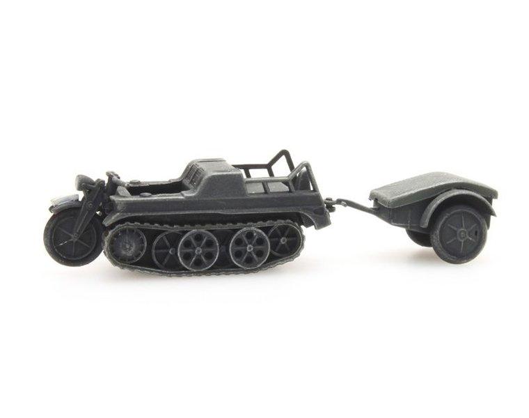 SdKfz 2 Kettenkrad grijs
