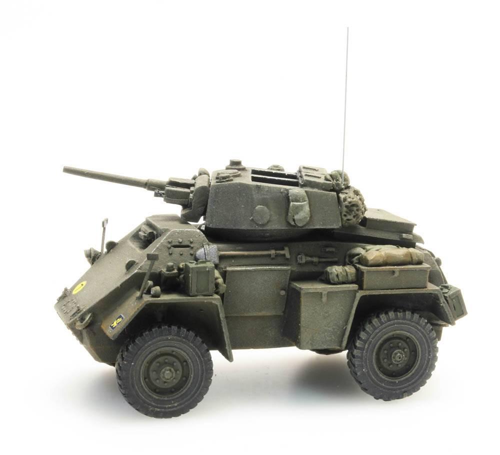 Humber armoured car Mk IV, 37 mm gun, UK, 1:87 kant en klaar resin, geverfd