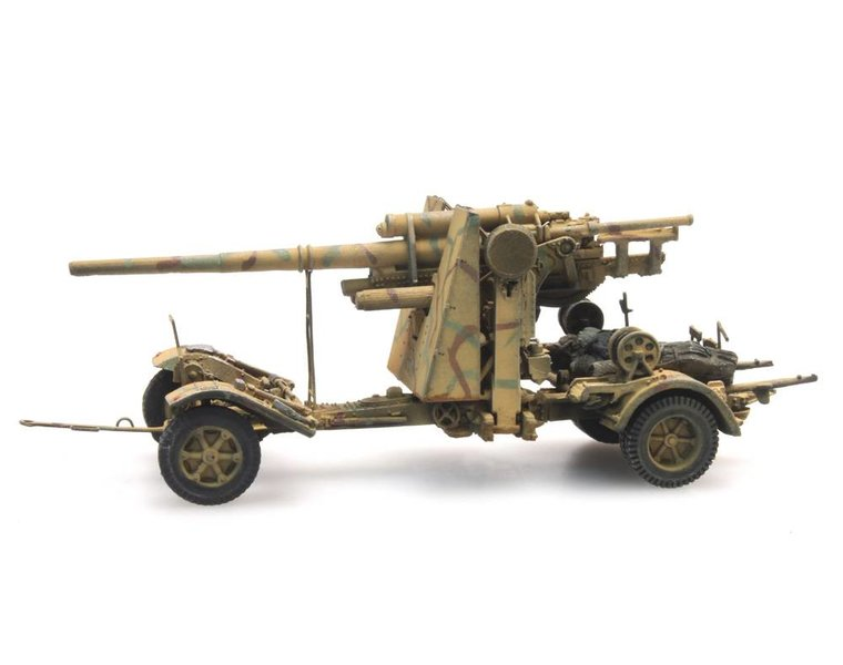 88mm Flak 18, Tarnung