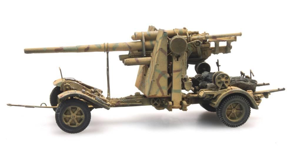 88mm Flak 18, camouflage