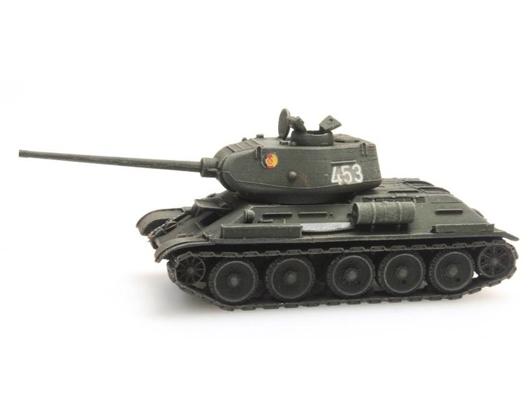 T34-85mm Gun Soviet Army/DDR