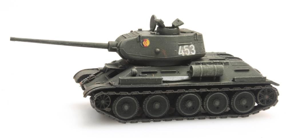 T34-85mm Gun Soviet Army/DDR, 1:120 Bausatz