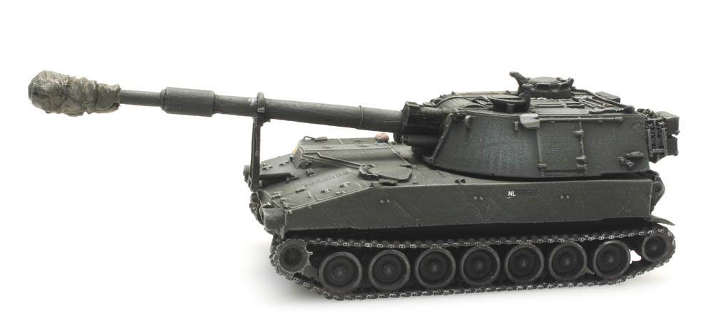 M109 A2 treinlading, Koninklijke Landmacht