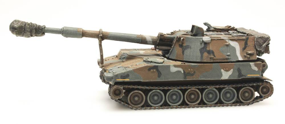 M109 A2 MERDC US Army train load