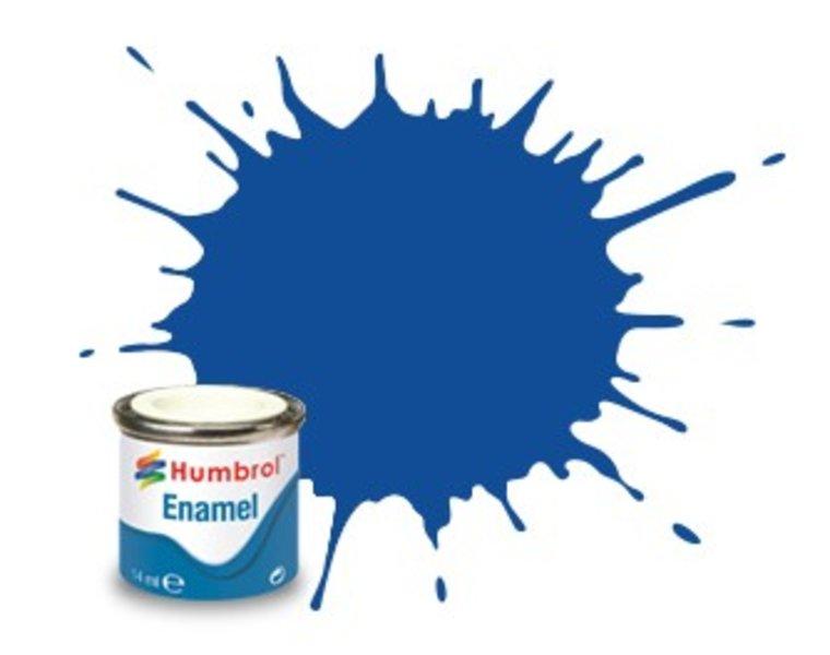 Humbrol 25 Blauw mat