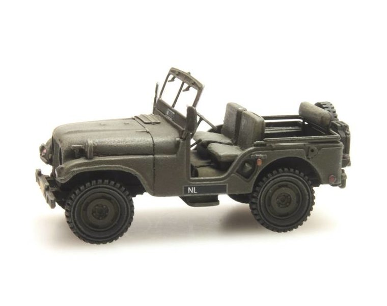 Nekaf Jeep Niederländische Armee
